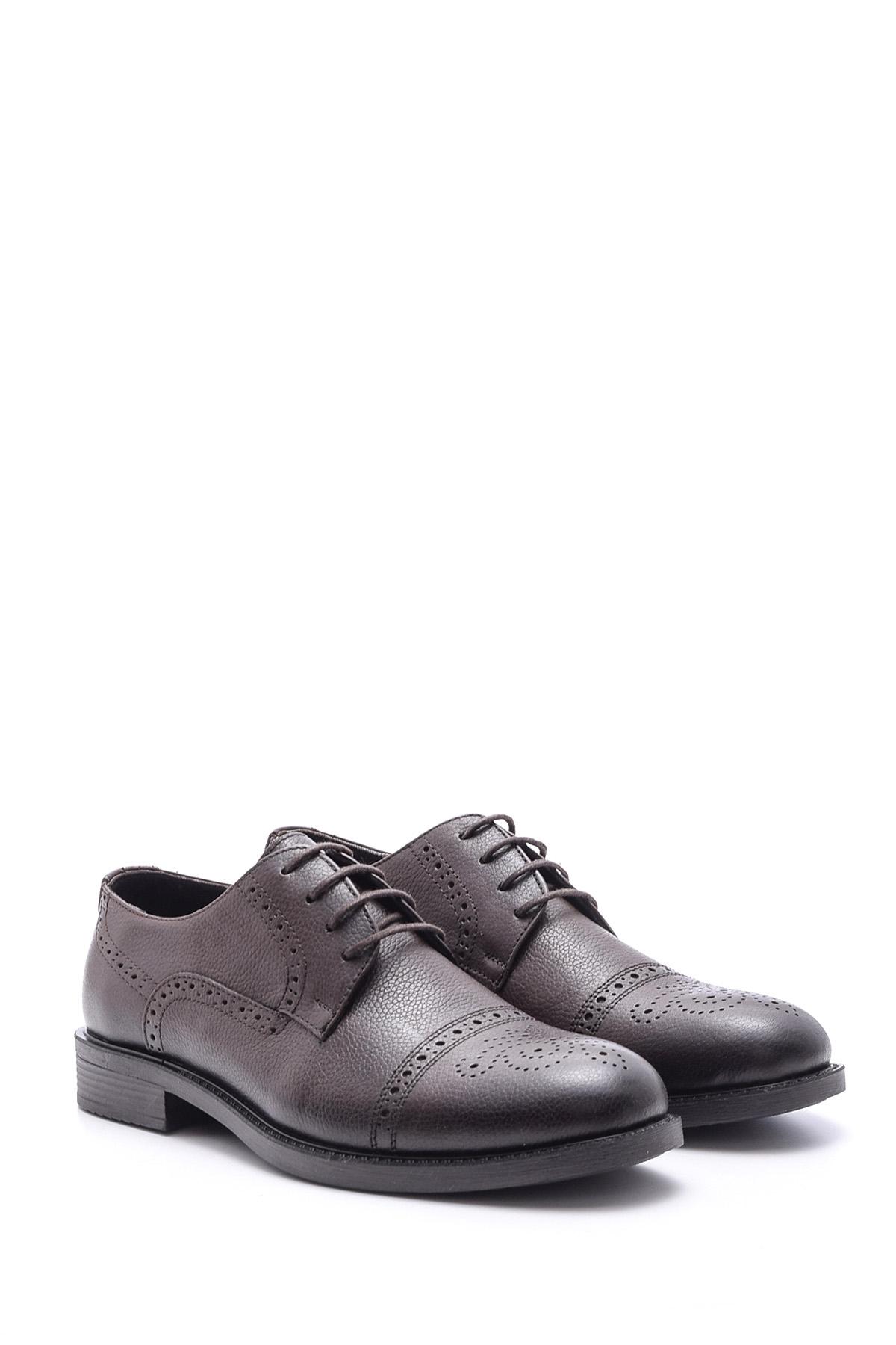 Kahverengi Erkek Casual Deri Ayakkabı 5638097875